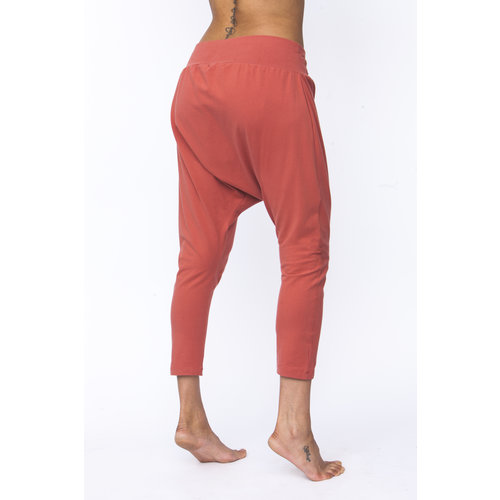 Urban Goddess Capri Yoga Hose Dharma Harem Pants in der Farbe Indian Desert