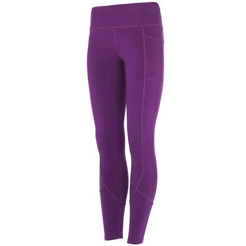 Mandala Fashion Yoga Hose Pocket Tights in der Farbe Purple