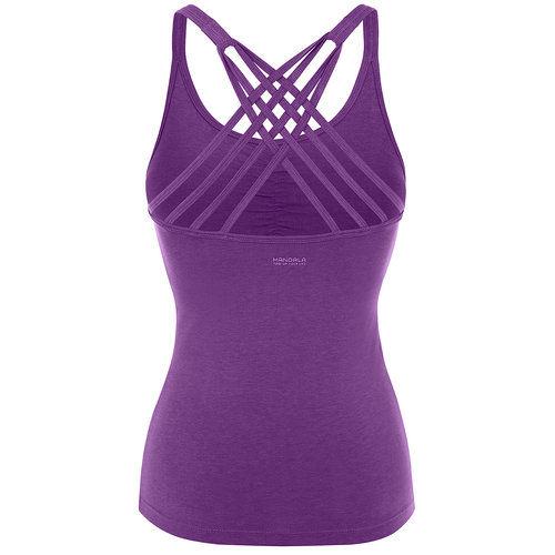 Mandala Fashion Yoga Top Infinity in der Farbe Purple