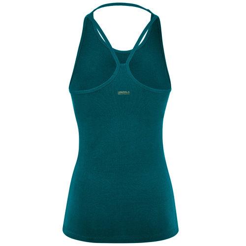 Mandala Fashion Extra Long Yoga Top in der Farbe Tropical Green