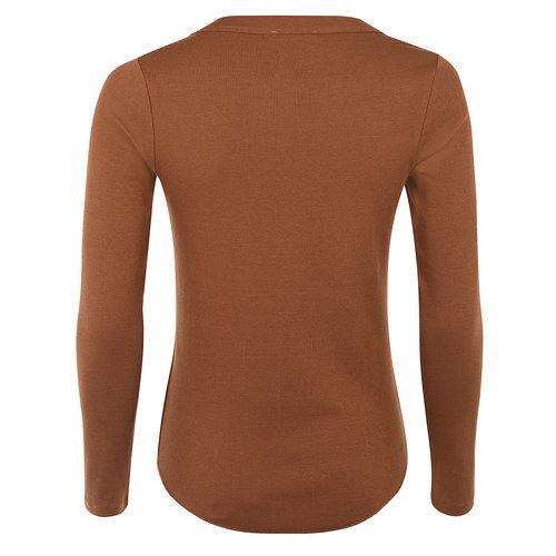 Mandala Fashion Longsleeve Basic in der Farbe Velvet Brown