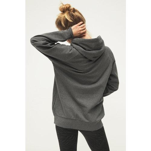 Kismet Yogastyle Rudra Yoga Hoodie in der Farbe Grey Marl