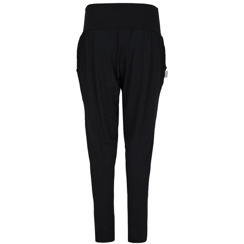 Nice to meet me Yoga Harem Pants in der Farbe Deep Black