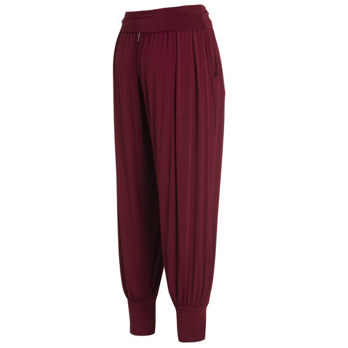 DEHA Klassische Yoga Pants in der Farbe Bordeaux