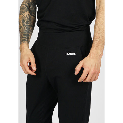 IKARUS Yoga-Kleidung für Männer Männer Yoga Hose Prometheus in der Farbe Schwarz