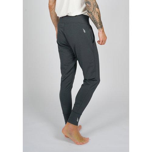 IKARUS Yoga-Kleidung für Männer Männer Yoga Hose Prometheus in der Farbe Grau