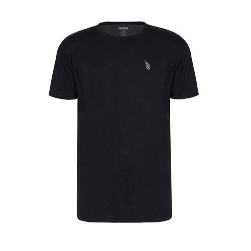 IKARUS Yoga-Kleidung für Männer Yoga T-Shirt Prometheus in der Farbe Schwarz