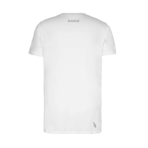 IKARUS Yoga-Kleidung für Männer Yoga T-Shirt Prometheus in der Farbe Weiß