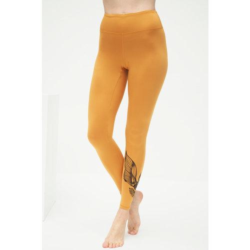 Kismet Yogastyle 7/8 Yoga Legging Ganga Warrior Desert Gold