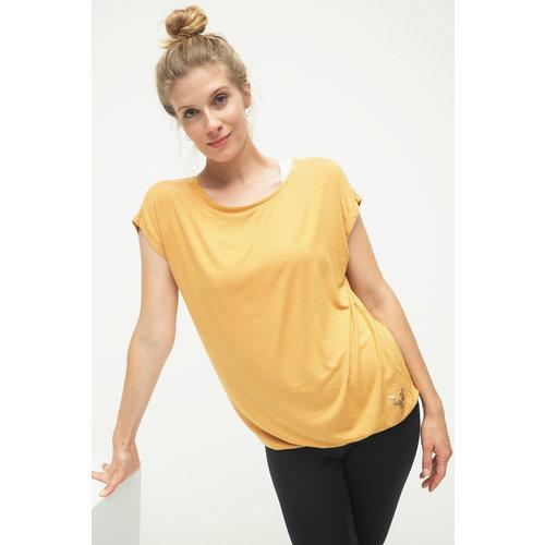 Kismet Yogastyle  Yoga Shirt Jiva in der Farbe Dessert