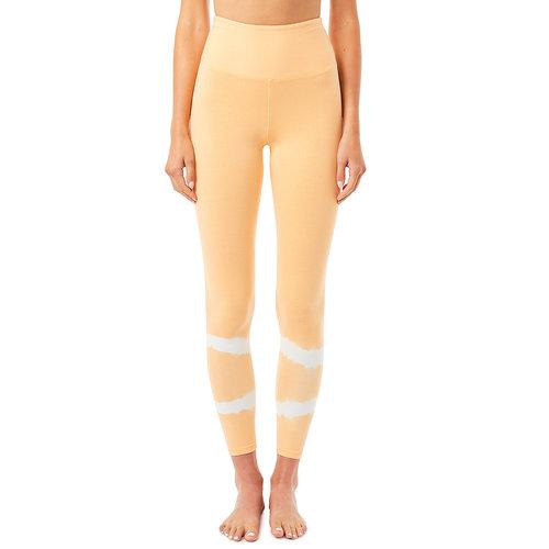 Mandala Fashion Yoga Batik Legging in der Farbe TD Rosewood