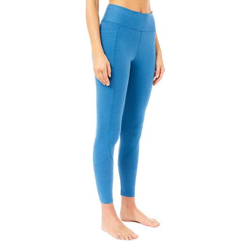 Mandala Fashion Yoga Hose Pocket Tights in der Farbe Skydiver