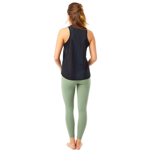Mandala Fashion Active Yoga Tank Top in der Farbe Schwarz