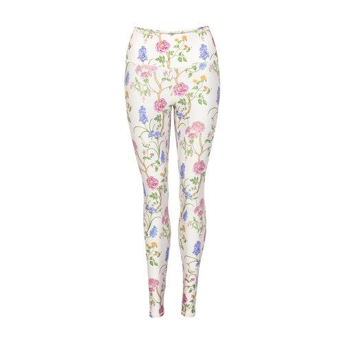Mandala Fashion Fancy Print Leggings Monets Garden