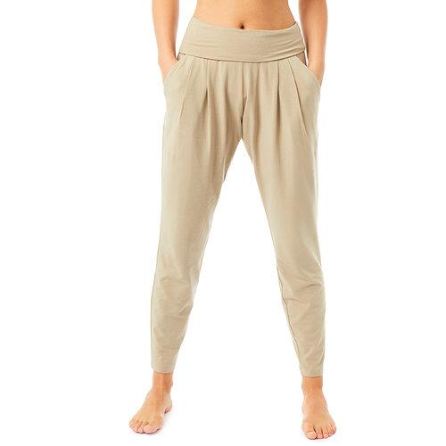 Mandala Fashion Yoga Studio Pants in der Farbe Light Khaki