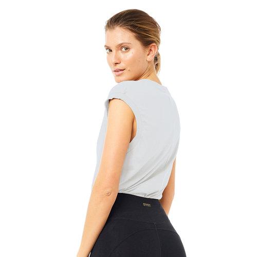 Mandala Fashion Easy V-Neck Shirt in der Farbe Grey