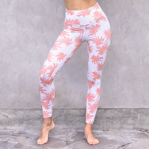 Jaya Organic Fashion Print Leggings Maui