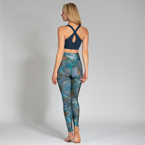 Magadi Yoga & Pilates Activewear Print Leggings Amazonas