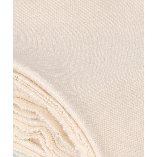 Halfmoon Yoga Yogadecke Cotton Yoga Blanket in der Farbe Natural