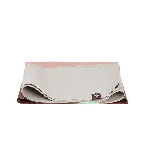 Manduka Eko SuperLite Travel Mat - In der Farbe Clay Stripe