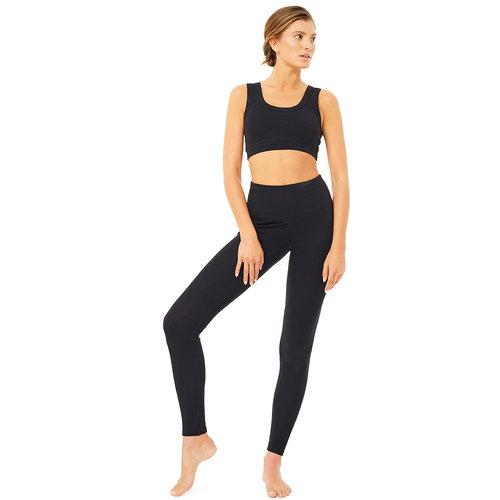 Mandala Fashion High Waist Rib Legging
