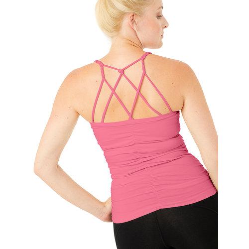 Mandala Fashion Cable Yoga Top in der Farbe Rosé