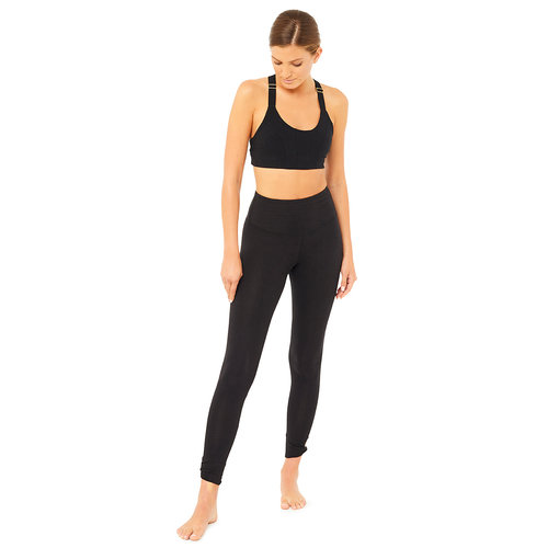 Mandala Fashion Full Coverage Yoga Bra in der Farbe Schwarz