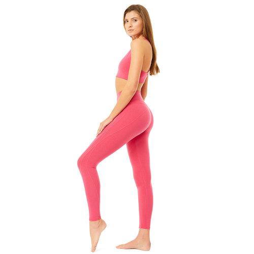 Mandala Fashion Minimalistic Yoga Bra in der Farbe Poppy