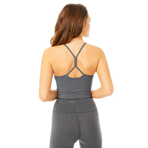 Mandala Fashion Basic Yoga Top in der Farbe Anthrazit