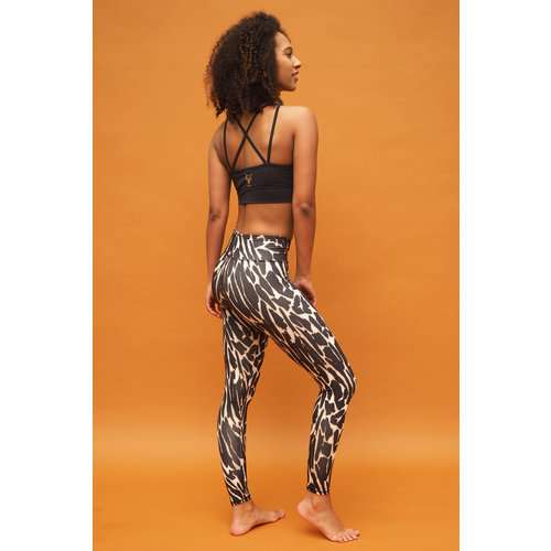 Kismet Yogastyle 7/8 Yoga Legging Ganga Wild Skin