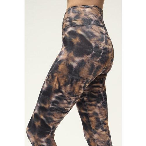 Kismet Yogastyle 7/8 Yoga Legging Ganga Fusion Brown