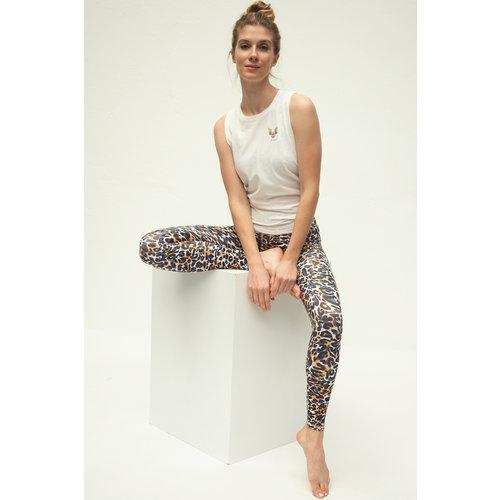 Kismet Yogastyle 7/8 Yoga Legging Ganga Good Vibes White