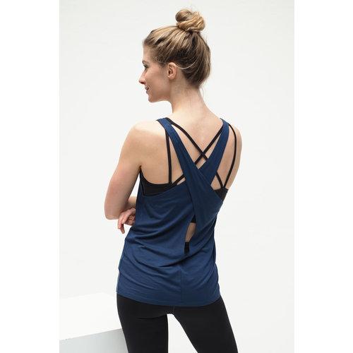 Kismet Yogastyle Kismet Yoga Top Aja in der Farbe Blue