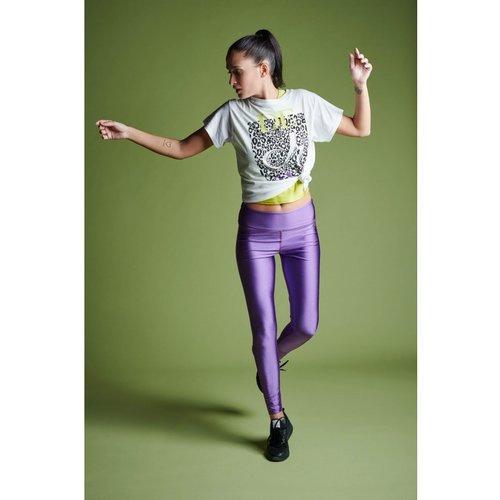 DEHA Shining Yoga Leggings in der Farbe Beere