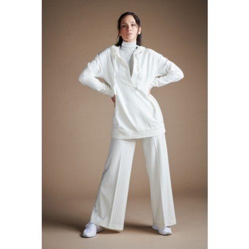 DEHA Comfort Long Hoodie in der Farbe Milk White
