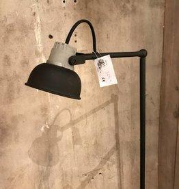 Tierlantijn Leeslamp zwart met grijs