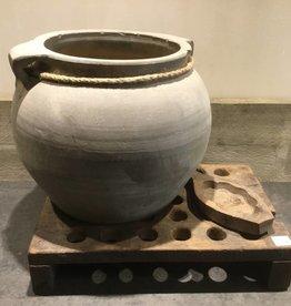 De Appelgaard Grijze oude pot
