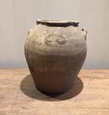 De Appelgaard Kleine oude grijze pot