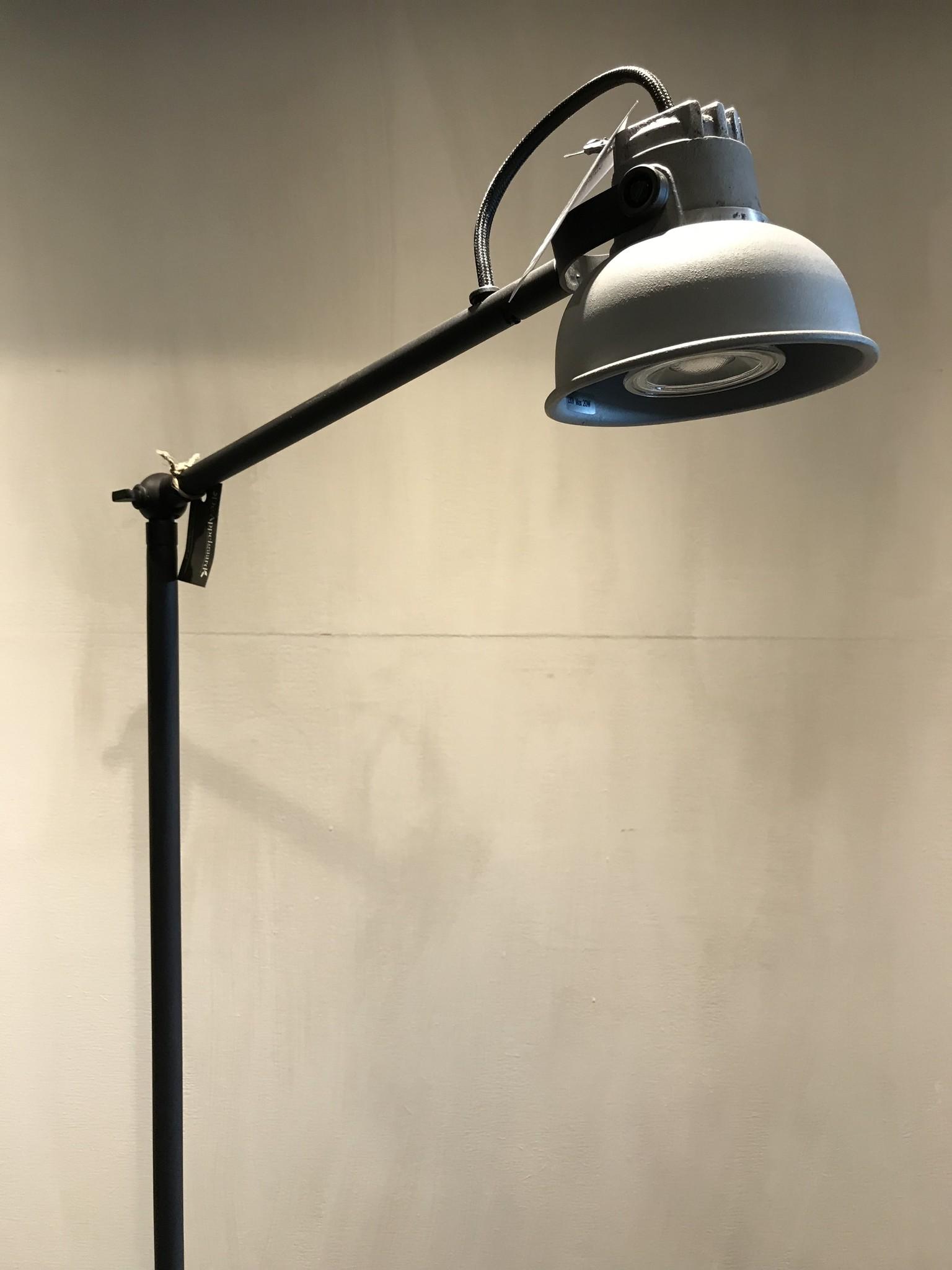 De Appelgaard Vloerlamp grijs pf zwart