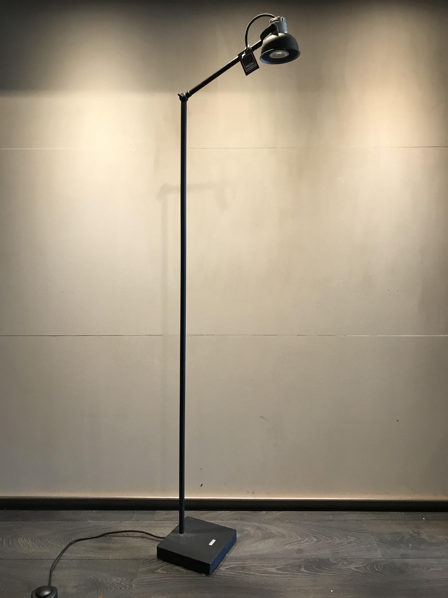 Vloerlamp grijs pf zwart