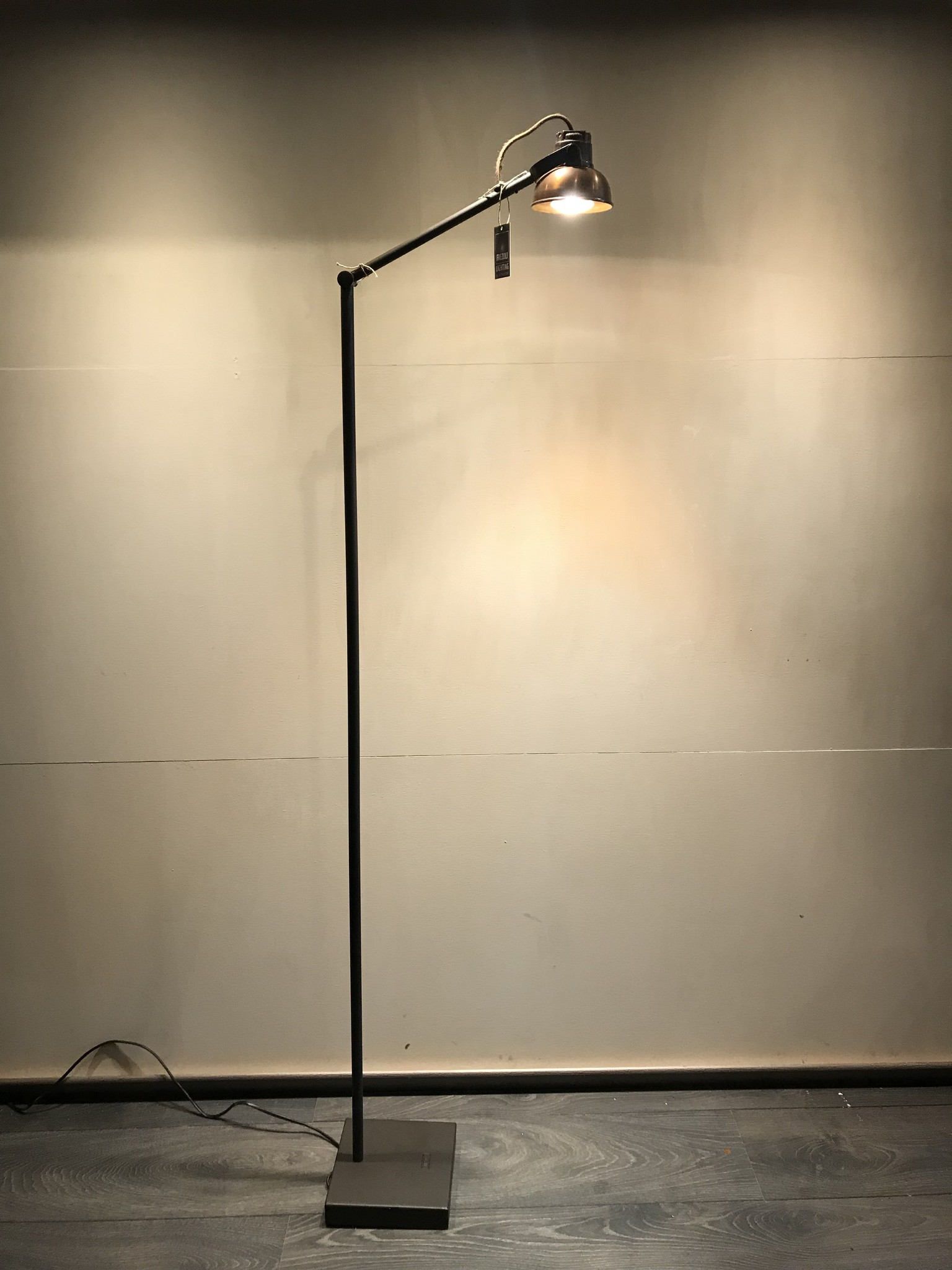 De Appelgaard Vloerlamp koper
