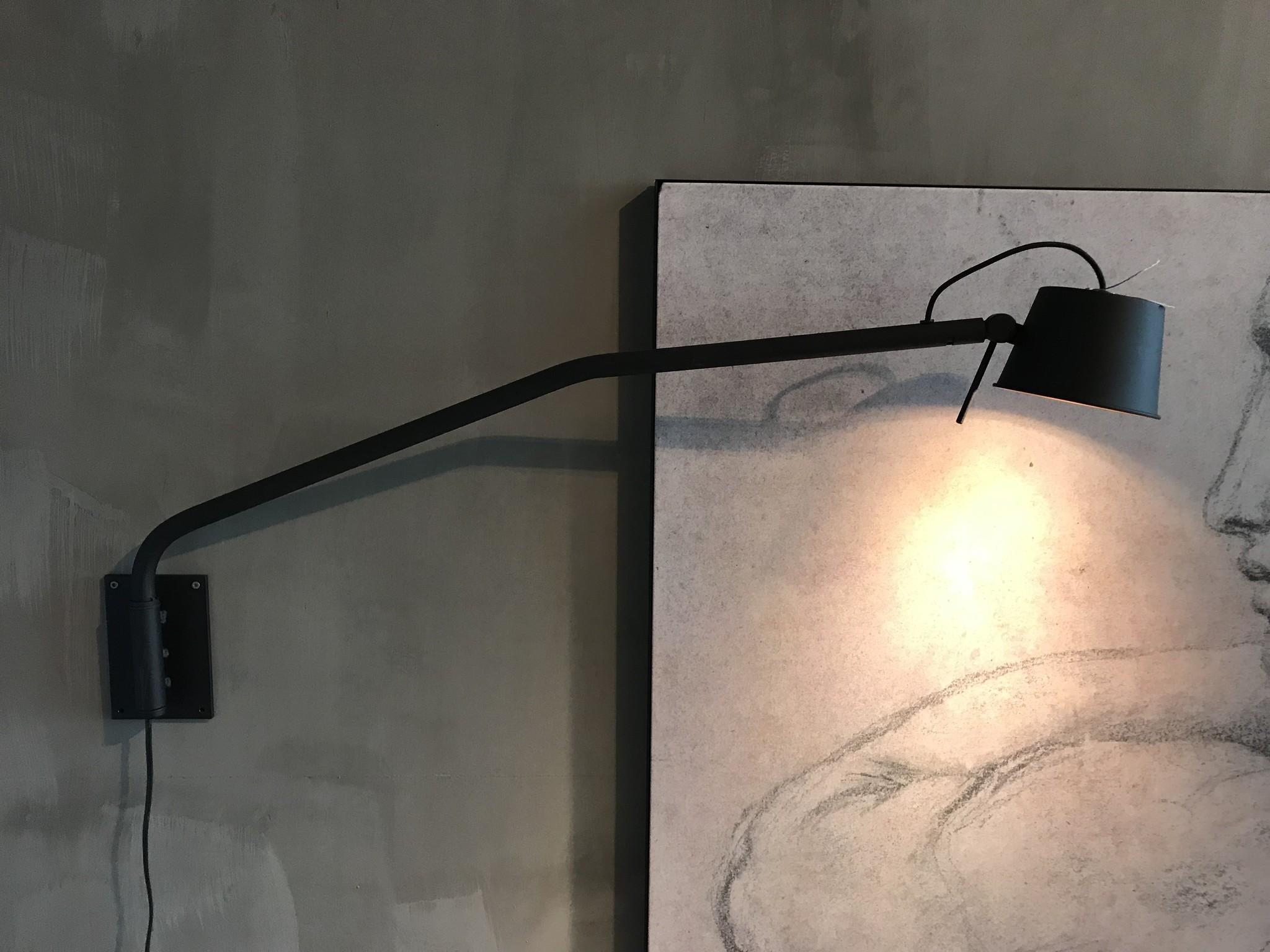 Wand leeslamp