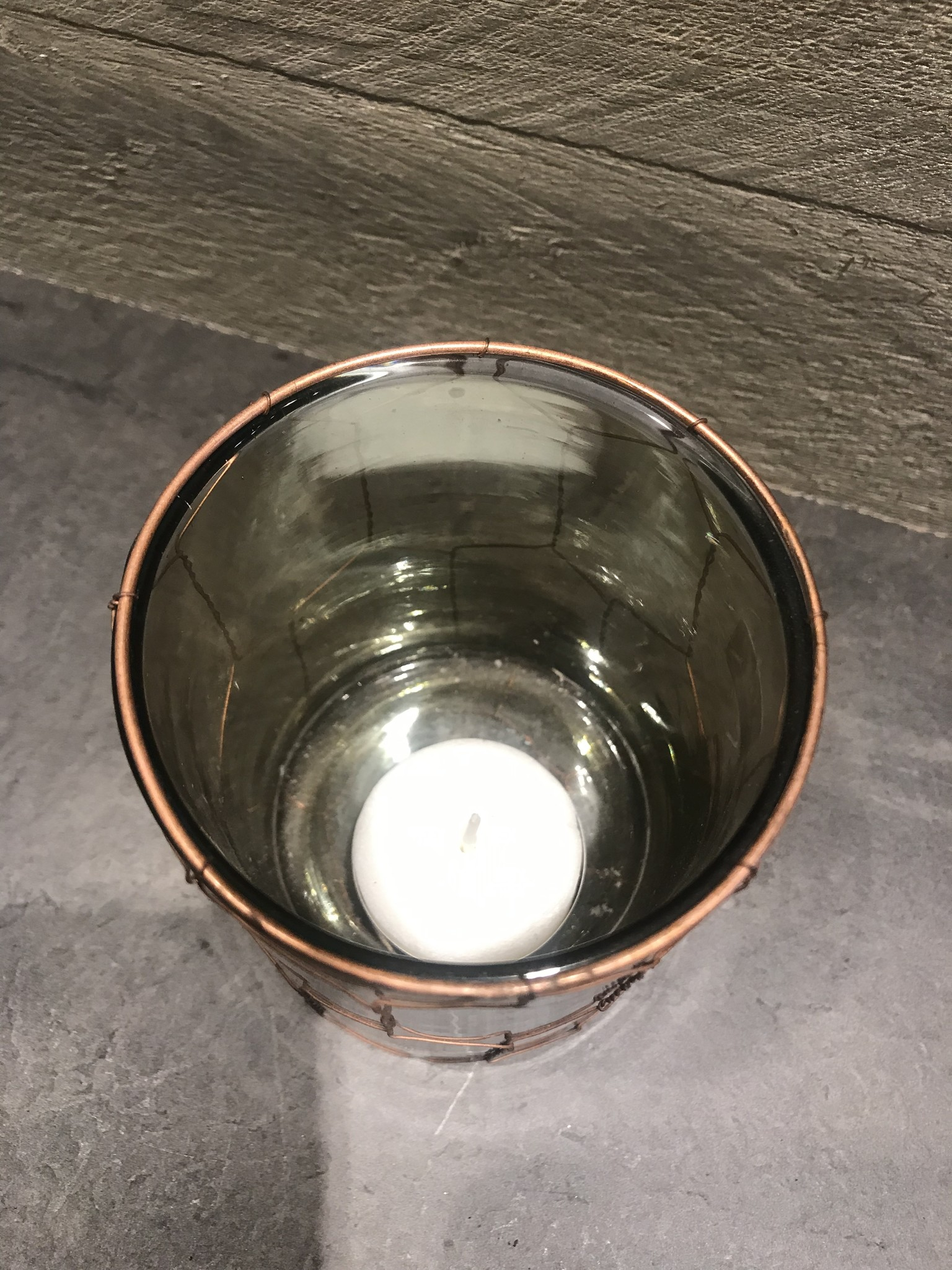 De Appelgaard Waxinelichtje glas