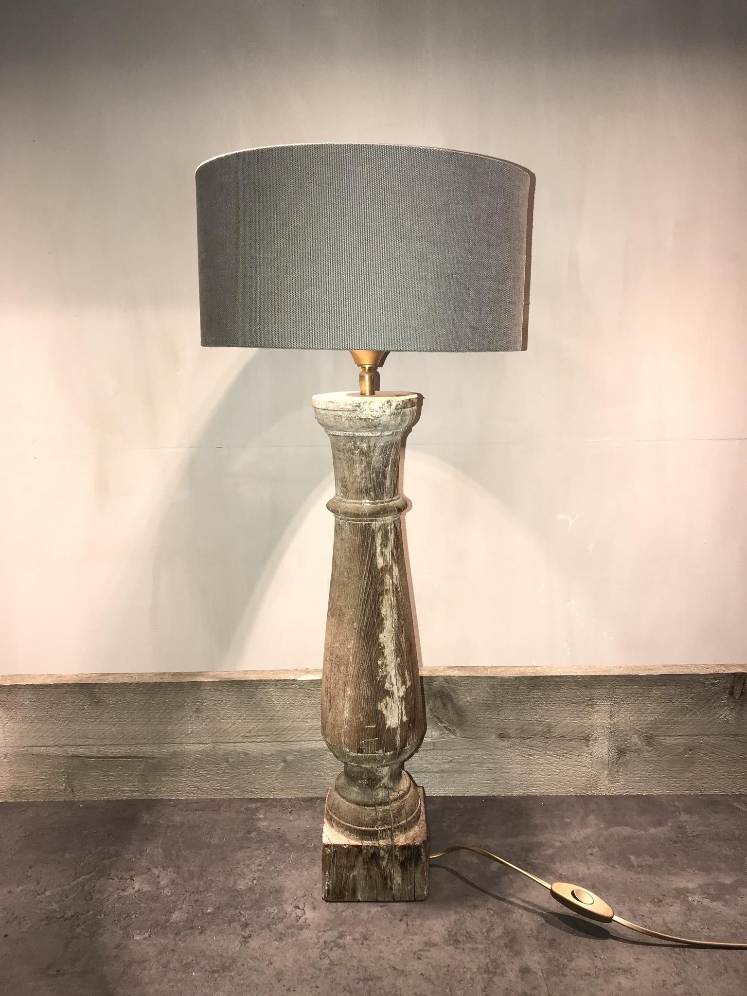 De Appelgaard Houten baluster lamp