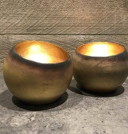 Waxinelichtje goud