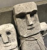 Set stenen poppen
