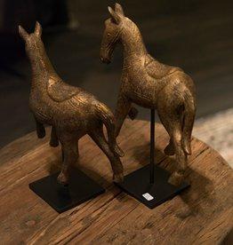 De Appelgaard Set paardjes bruin