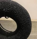 Kralen armband zwart