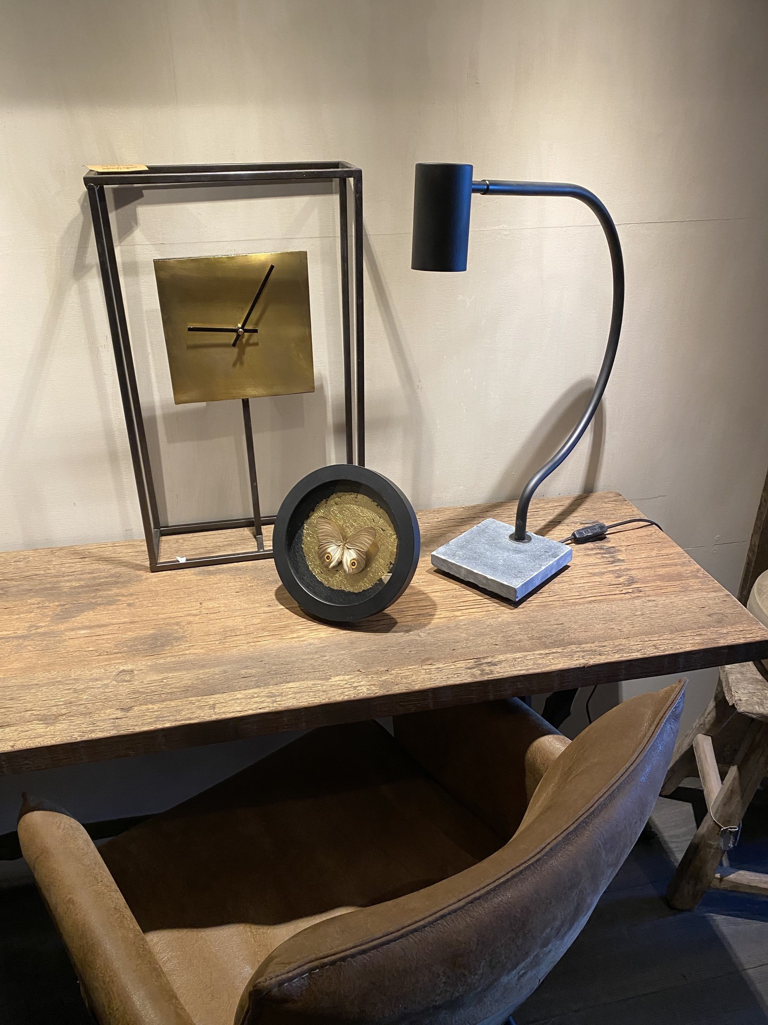 Steel en Style Boog lamp
