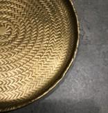 Gouden dienblad klein